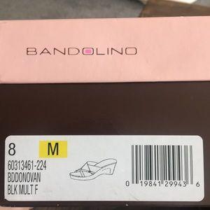 Bandolino Shoes - Bandolino BDDONOVAN  Black Sandals Size 8M